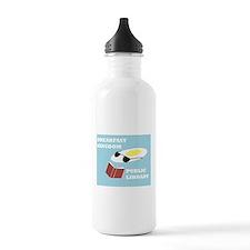 Breakfast Kingdom Public Library Water Bottle