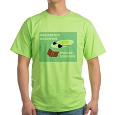 Breakfast Kingdom Public Library T-Shirt