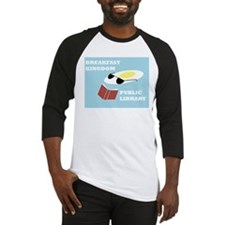 Breakfast Kingdom Public Library Baseball Jersey