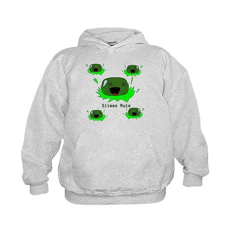 Slimes Green Blobs Cute Monsters Hoodie