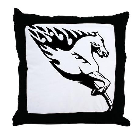Throw Pillow Duvet Covers : Horse duvet covers Throw Pillow by Madmentees