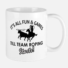 Team Roping designs Mug