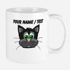 Custom Cartoon Cat Face Mug