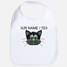 Custom Cartoon Cat Face Bib