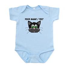 Custom Cartoon Cat Face Body Suit