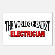 """""""The World's Greatest Electrician"""" Postcards (Pack"""