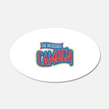 The Incredible Camren Wall Decal