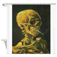 Van Gogh skelton Shower Curtain