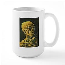 Van Gogh skelton Mug