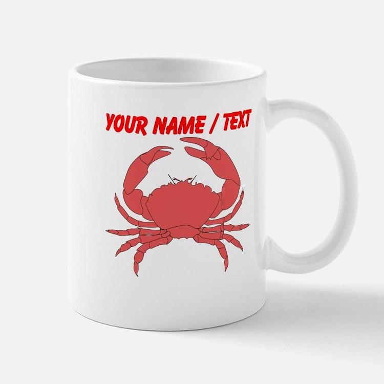 Custom Red Crab Mug