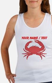 Custom Red Crab Tank Top