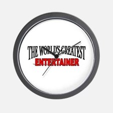 """""""The World's Greatest Entertainer"""" Wall Clock"""