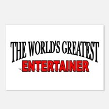 """The World's Greatest Entertainer"" Postcards (Pack"