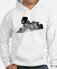 Old Style Train Hoodie