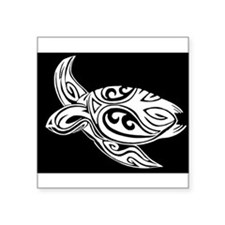 Tribal Turtle Sticker