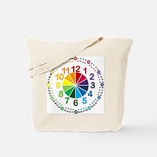 Read It Myself Clock Tote Bag