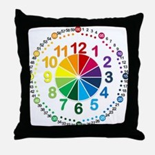 Read It Myself Clock Throw Pillow