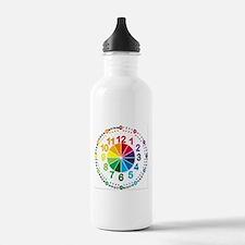Read It Myself Clock Sports Water Bottle