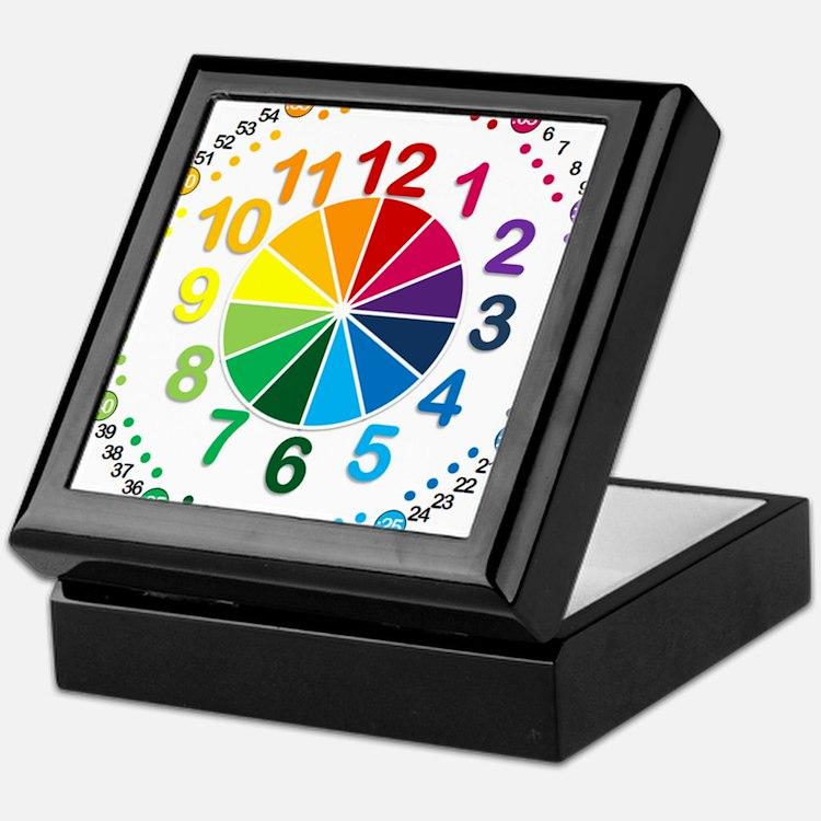 Read It Myself Clock Keepsake Box