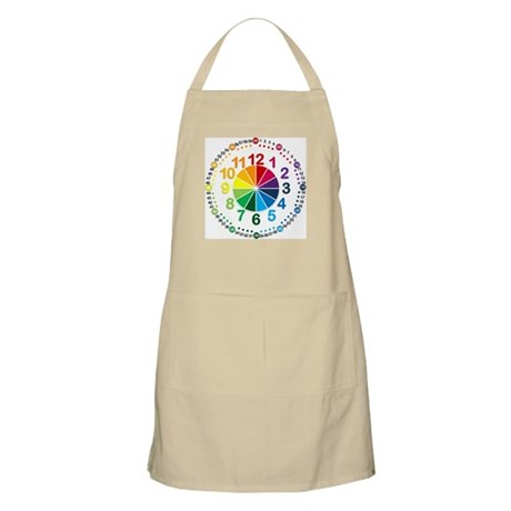 Read It Myself Clock Apron