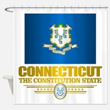 Connecticut Pride Shower Curtain