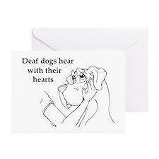 Hear hearts Greeting Cards (Pk of 10)