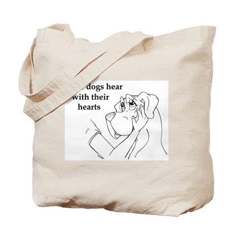 Hear hearts Tote Bag