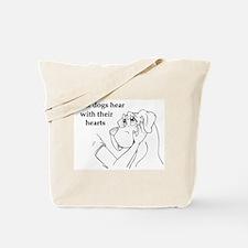Hear hearts Tote Bag