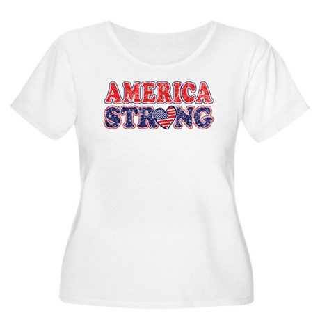 America Strong Plus Size T-Shirt