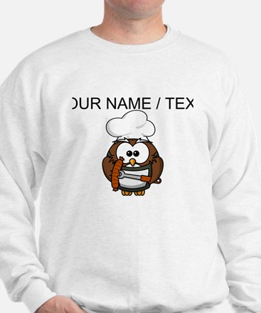 Custom Chef Owl Jumper
