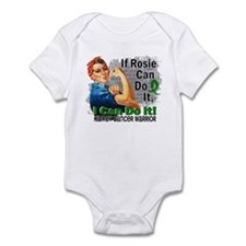 If Rosie Can Do It Kidney Cancer Infant Bodysuit