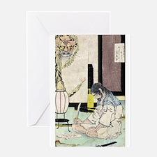 Summer-like Moon - Yoshitoshi Taiso - 188- - woodc