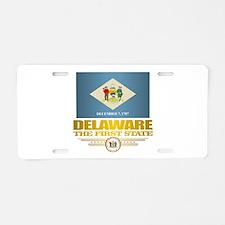 Delaware Pride Aluminum License Plate