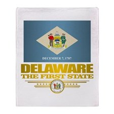 Delaware Pride Throw Blanket