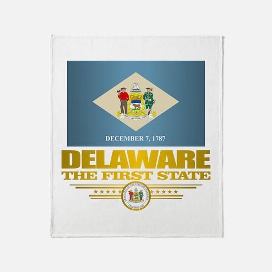 Delaware Pride Throw Blanket