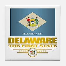 Delaware Pride Tile Coaster