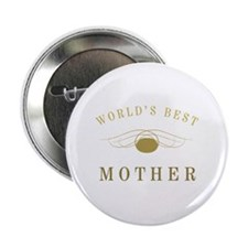 "World's Best Mother (Gold) 2.25"" Button"