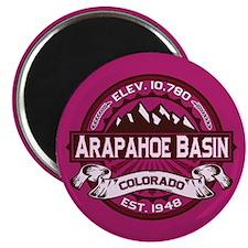 Arapahoe Basin Raspberry Magnet