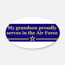 Unique Air force my daughter Oval Car Magnet