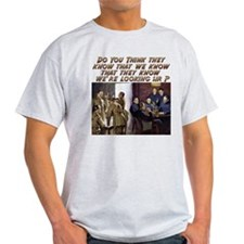 Funny Military Humor Ash Grey T-Shirt