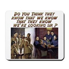 Funny Military Humor Mousepad