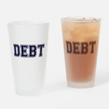 Debt Drinking Glass