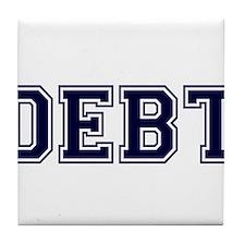 Debt Tile Coaster