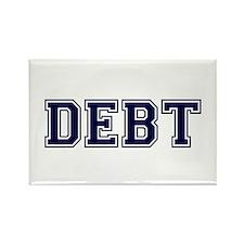 Debt Rectangle Magnet