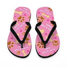 Schip-A-Pom Mom Gift Flip Flops