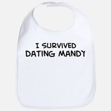 Survived Dating Mandy Bib