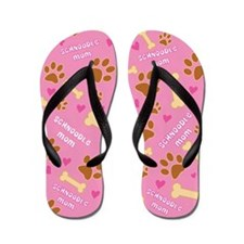 Schnoodle Mom Gift Flip Flops