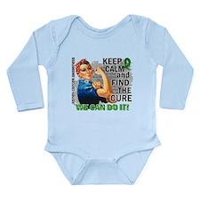 Rosie Keep Calm Kidney Cancer Long Sleeve Infant B