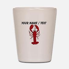 Custom Red Lobster Shot Glass