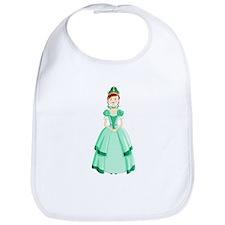 Green Princess Bib